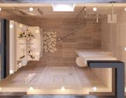 ванная - план